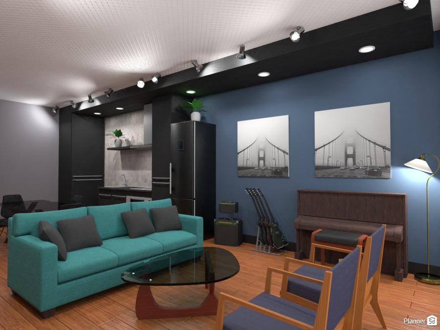 Hipos 1 apartment ideas planner 5d for Room decor 5d