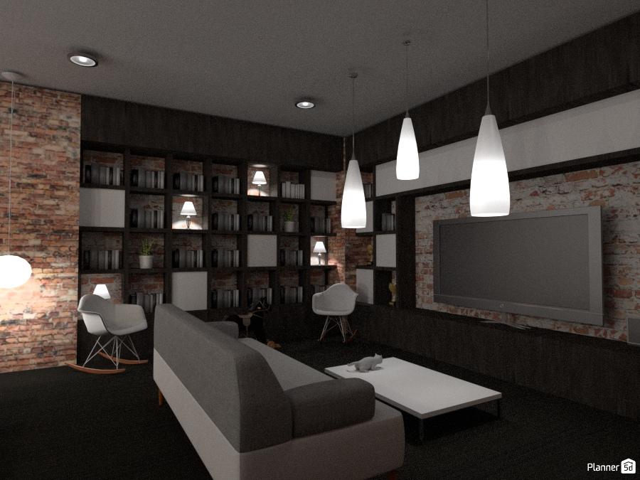 Living Room #1 67924 by Manu Deronne image