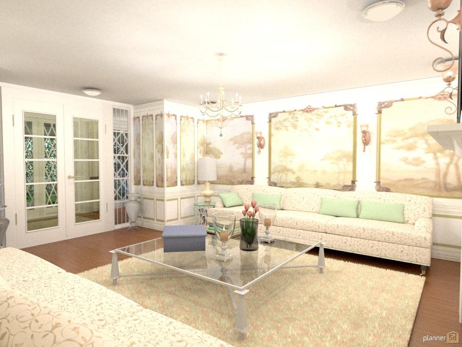 Louis XV Living Room 1231242 by Raiza image