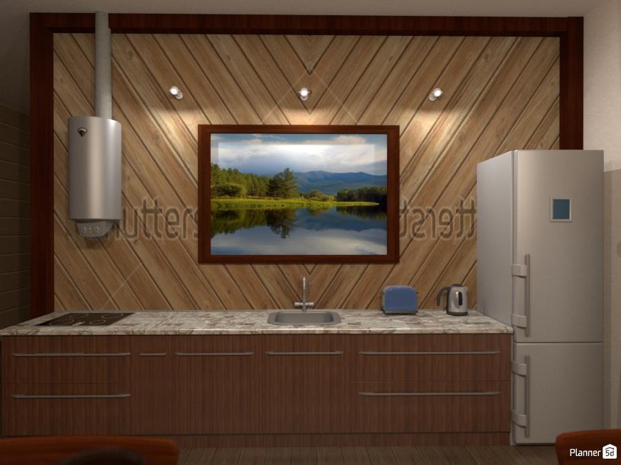 Кухня шале 1382142 by Татьяна Максимова image