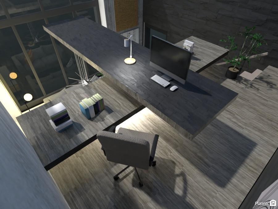 modern minimalist office space 3692818 by ArhitectureA image