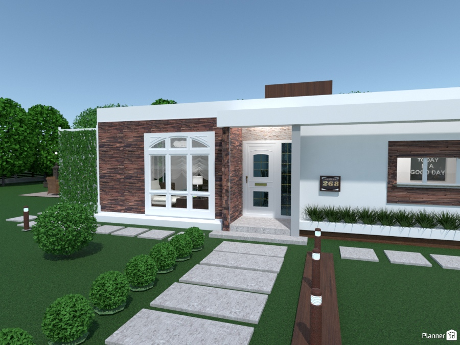 Casa popular house ideas planner 5d for Planner casa 3d