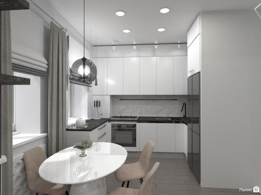 Кухня-столовая-гостиная 72283 by Elena Strenova image