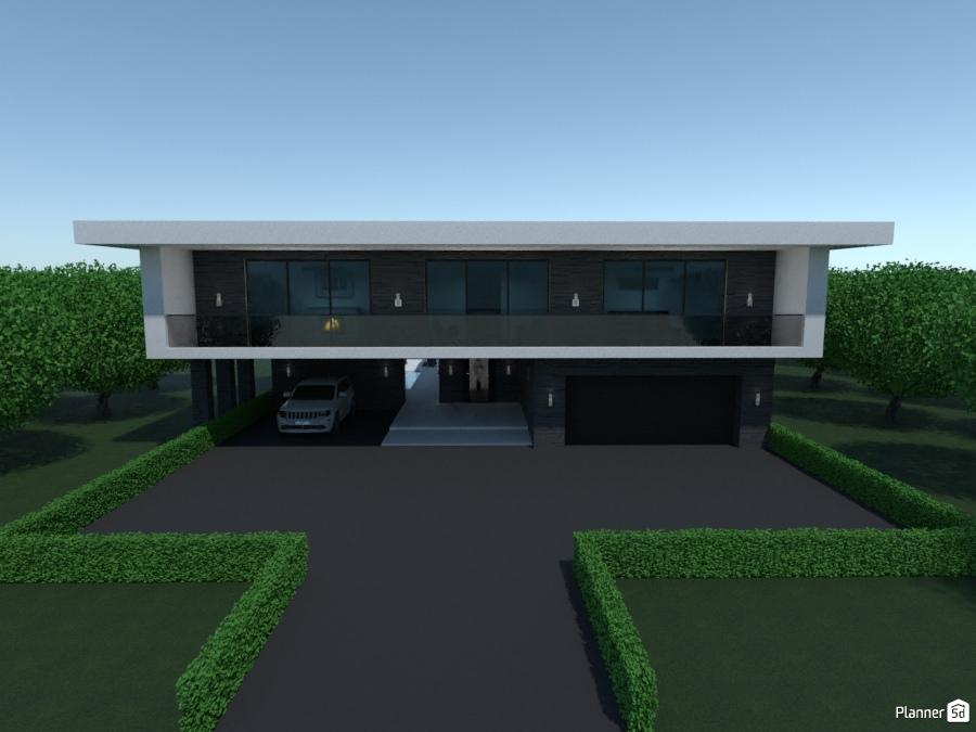 Modern family villa 2585436 by 3mil Designs image