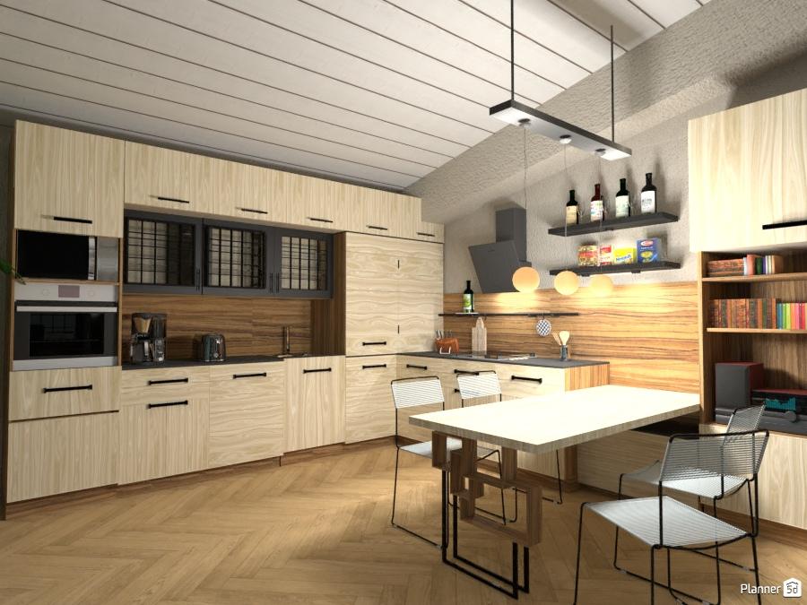 Interno giorno vista cucina idee per appartamenti planner d
