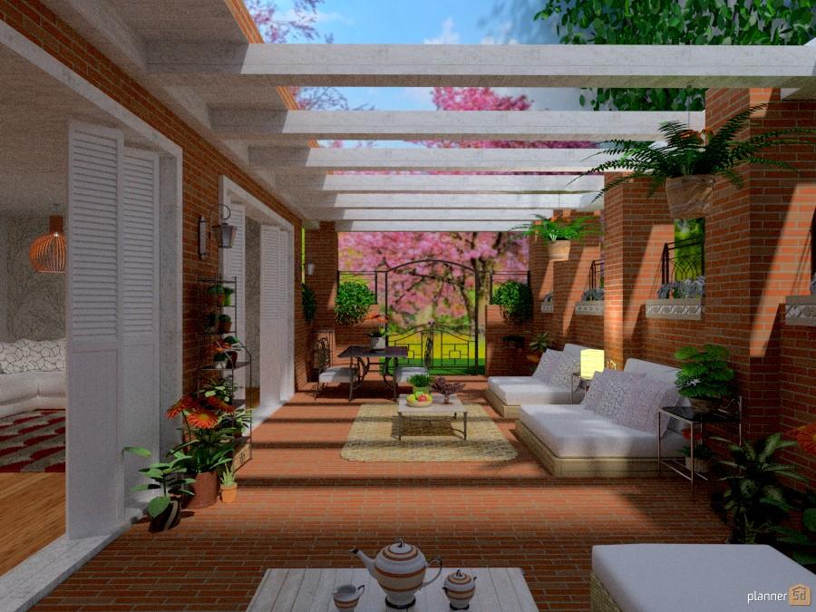 Idee Per Arredare Il Patio : Primavera patio idee per case indipendenti planner d