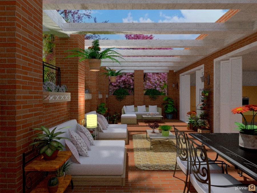 Preferência Aria di primavera (patio) - Apartment ideas - Planner 5D WB28