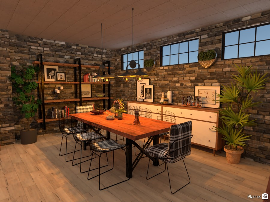 The New Industrial Dining 3834338 by Micaela Maccaferri image