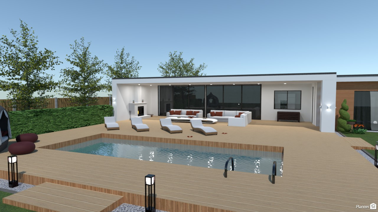 The terrace of Home Sweet Home 4123709 by Paolo image