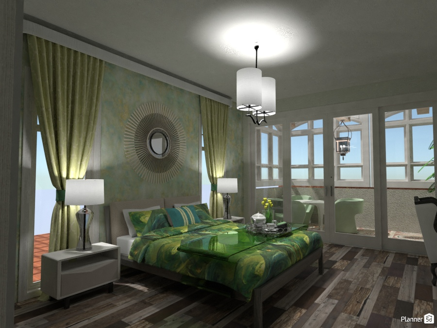 Green Point Bedroom #1 2228789 by Fede Lars image