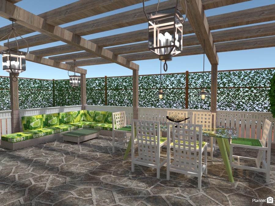 Idee Per Arredare Il Patio : Green point patio idee per appartamenti planner d