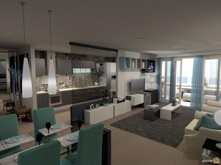 APT CONFORT - Terrace ideas - Planner 5D