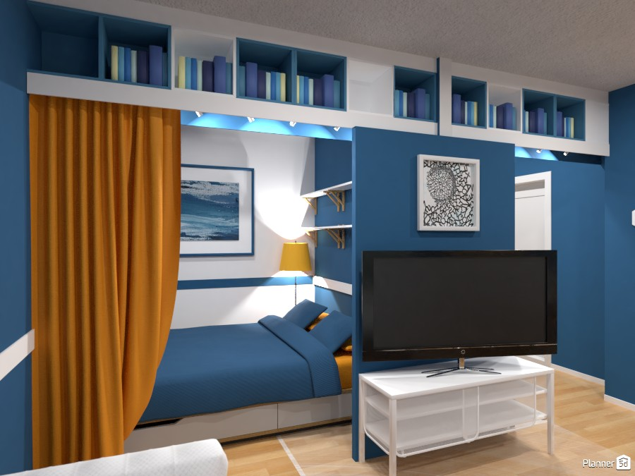 Small apartment Interior Contest IV 3518105 by Elena Z image