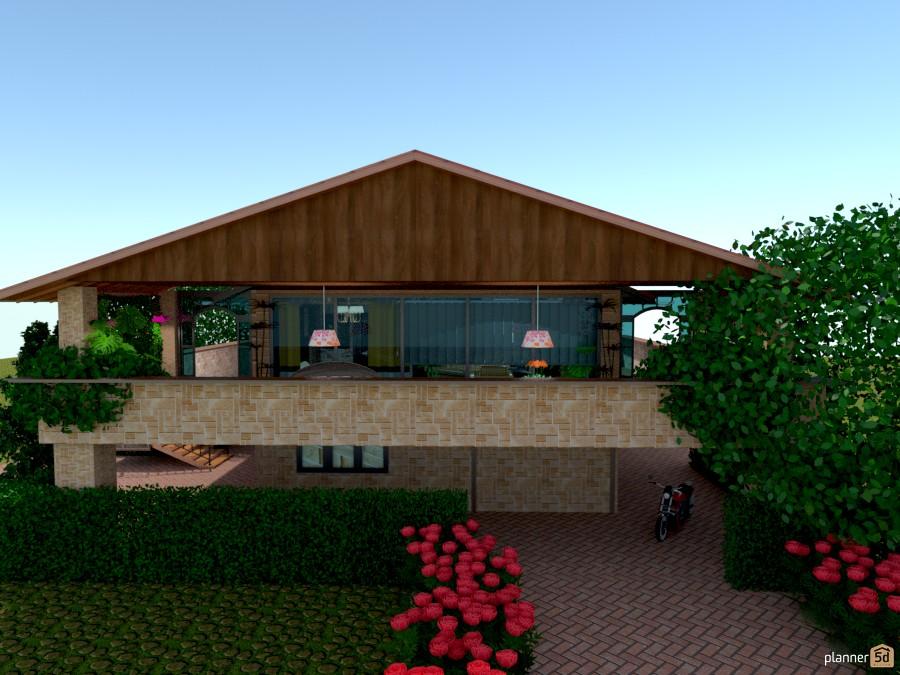 ideas house terrace outdoor landscape architecture ideas