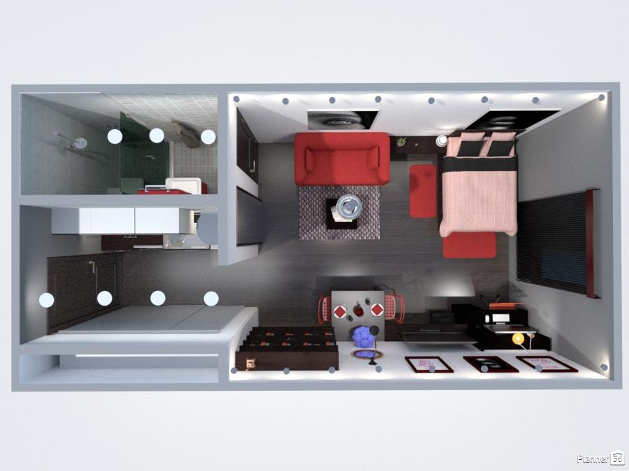 Idee Arredo Bagno Fai Da Te : Student studio apartment ideas planner 5d