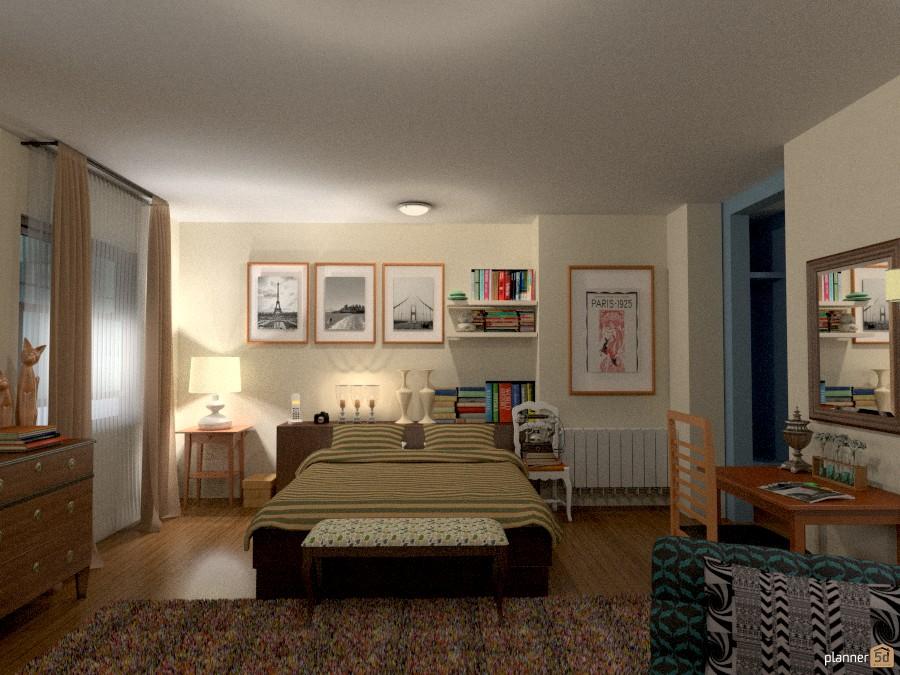 Carrie Bradshaw Apartment - Bedroom 754909 by Lucija Marko image