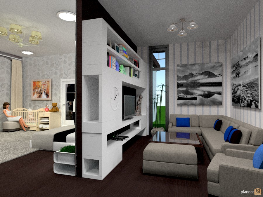 Снимок квартиры - apartment ideas - planner 5d - Arredo Fai Da Te Camera Da Letto