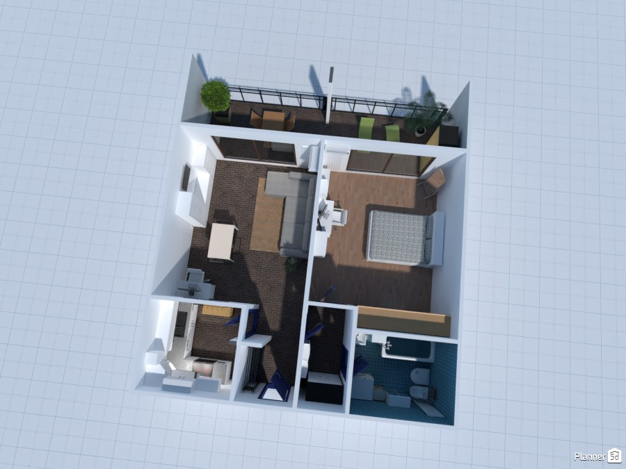 Casa Nuova 3D primo rendering 3756237 by denise corbetta image