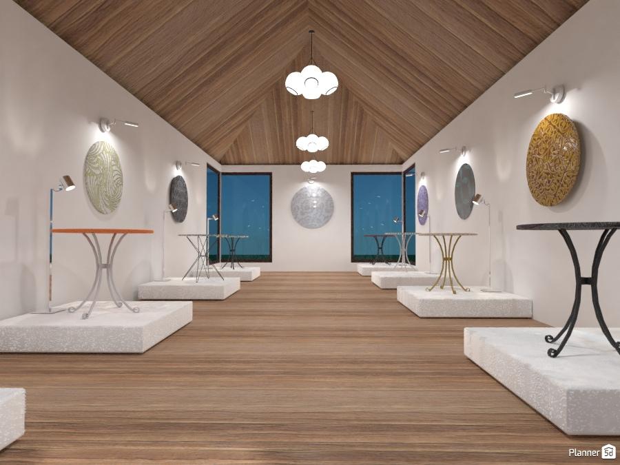 Ufficio In Casa Idee : Art gallery installation house ideas planner 5d