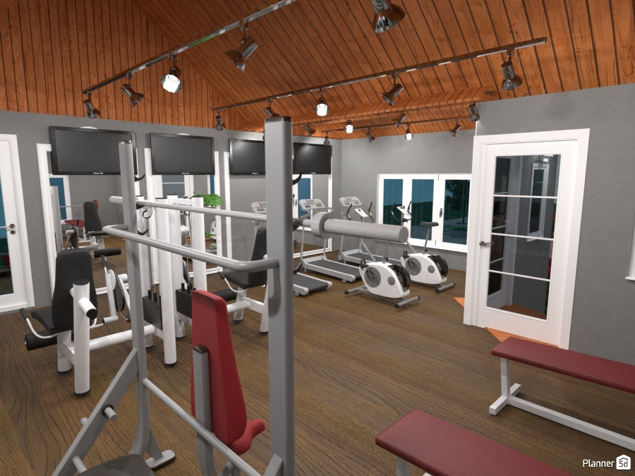 Neighborhood gym house ideas planner d