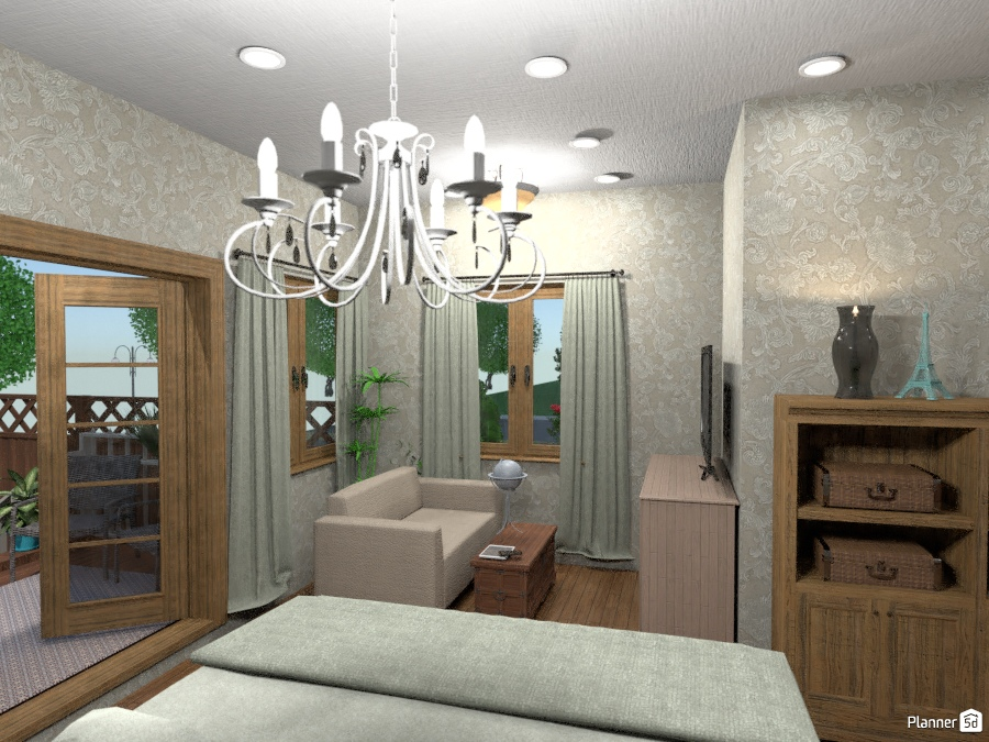 Master Bedroom - House ideas - Planner 5D