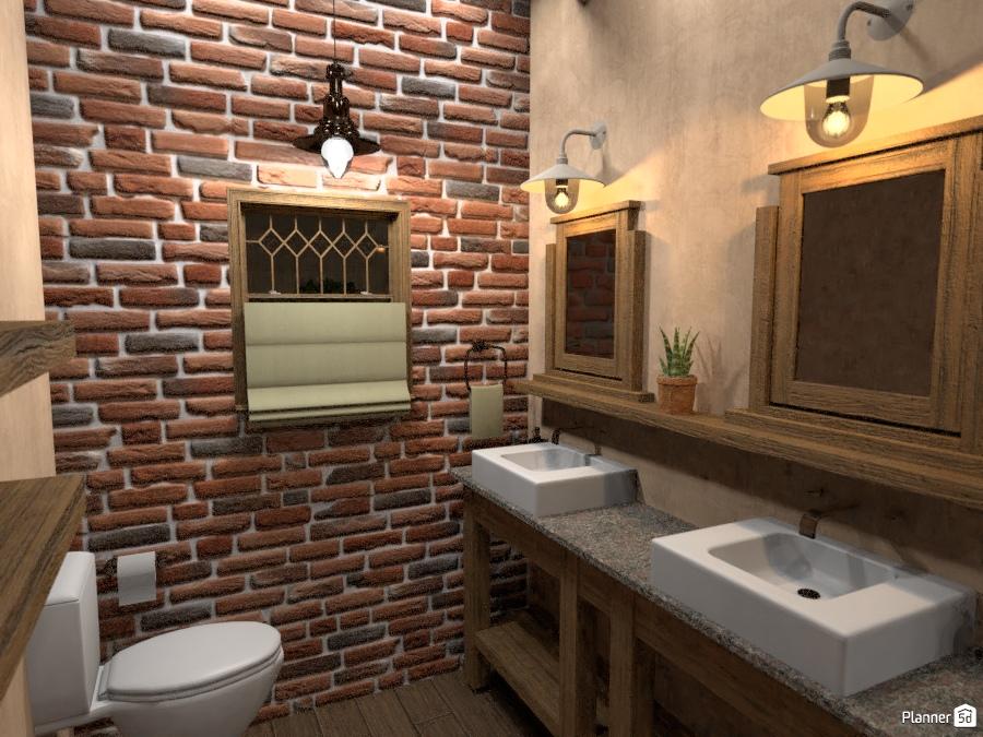 Half Bath - House ideas - Planner 5D