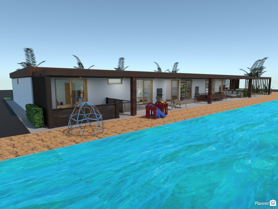 Beach house for a large family 4252112 by Gabes image