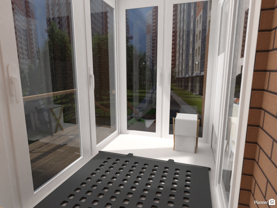 крыльцо Ideas Para Apartamentos Planner 5d