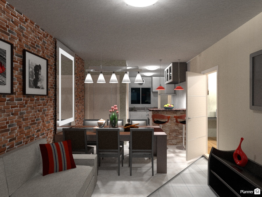 Ideas Apartment Decor Kitchen Lighting Cafe Dining Room