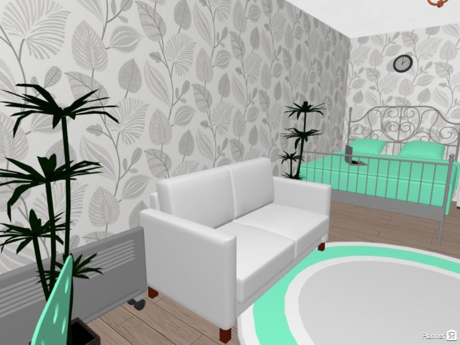 Трёхкомнатная квартира с залом. 74319 by Александра Дудырева image