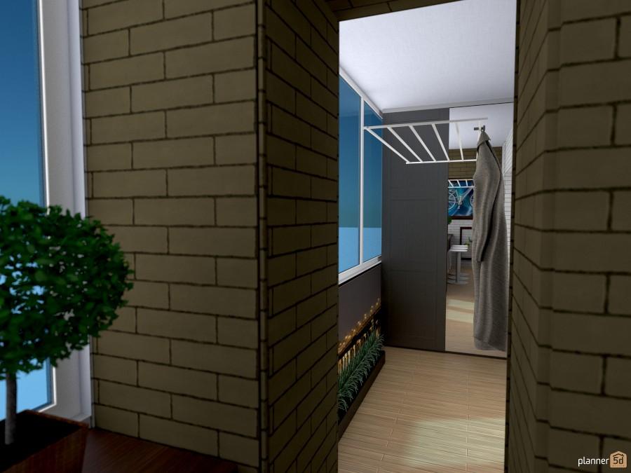 Балкон 758835 by Татьяна Максимова image