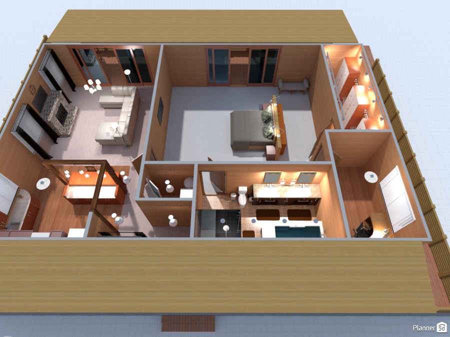 Cabin Free Online Design 3d House Ideas Dad By Planner 5d