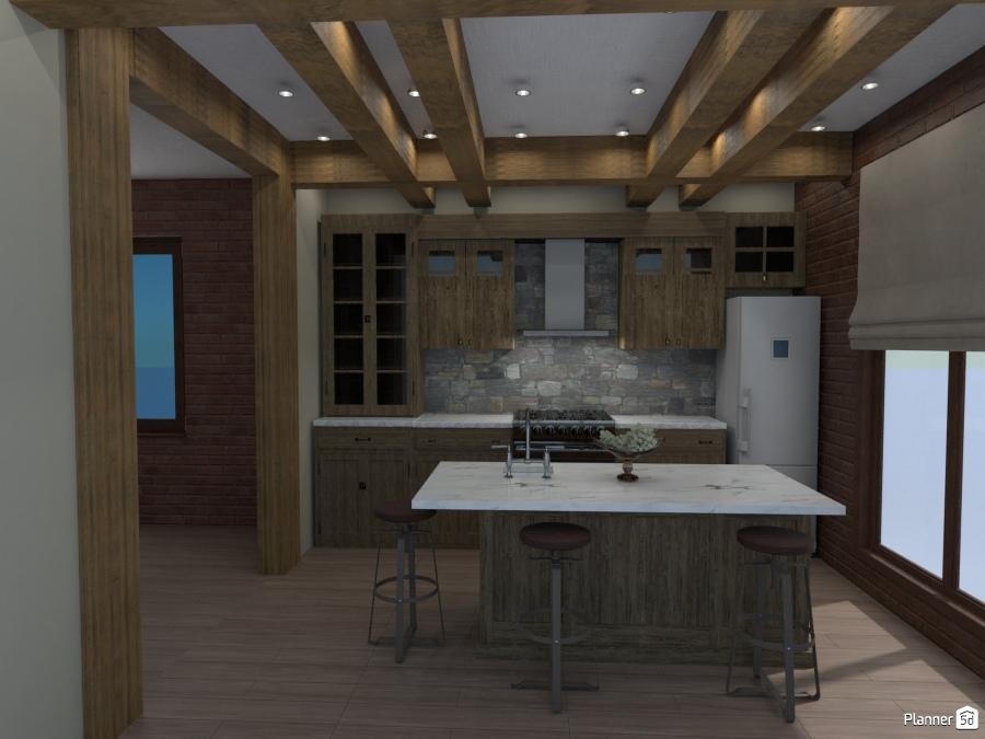 кухня стиль шале 2741011 by Романцова Елена image