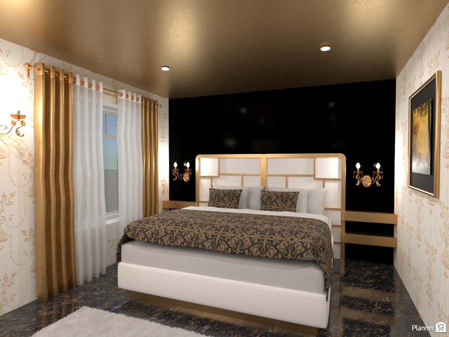 Contest: luxurious bedroom 4342286 by Elena Z image