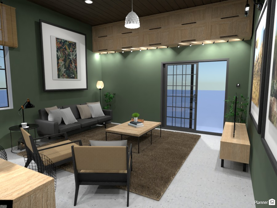 Loft Kitchen and Living Room - Design Battle 4145099 by Ana G image