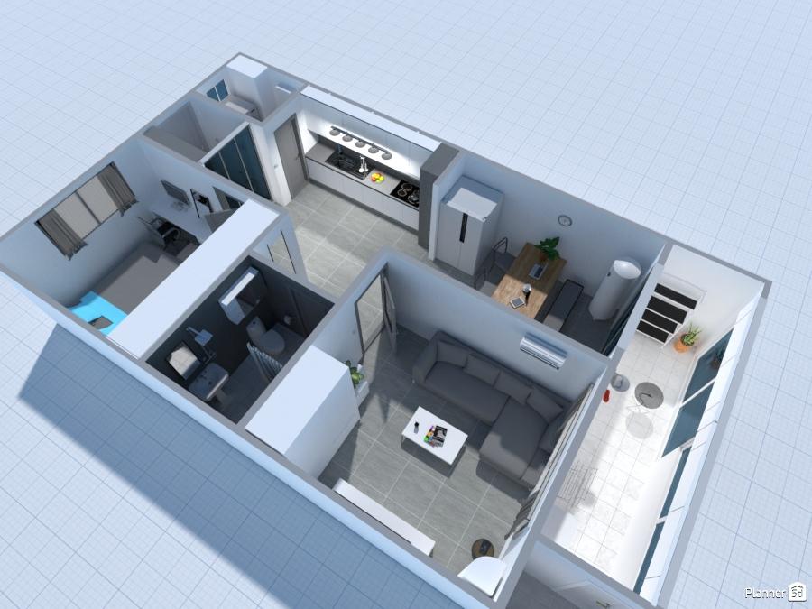 Korean Small Apartment - Free Online Design   3D Ideas Ideas ...