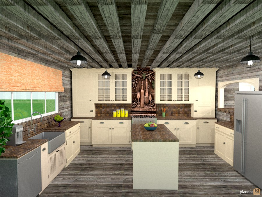 old barn renovation kitchen 965745 by Joy Suiter image