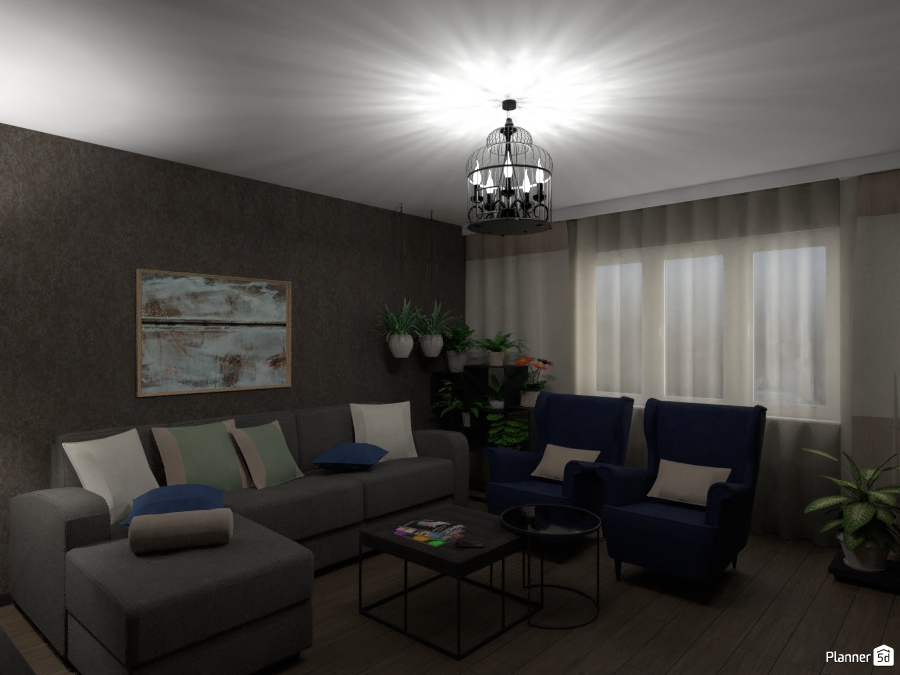 Дизайн гостиной 2473403 by Татьяна Максимова image