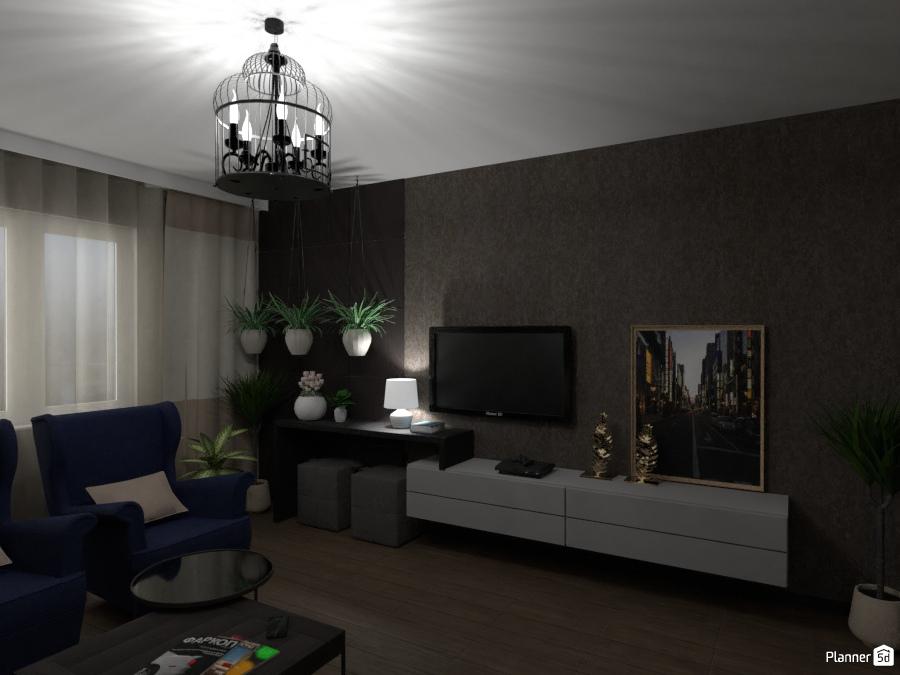 Дизайн гостиной 2473411 by Татьяна Максимова image