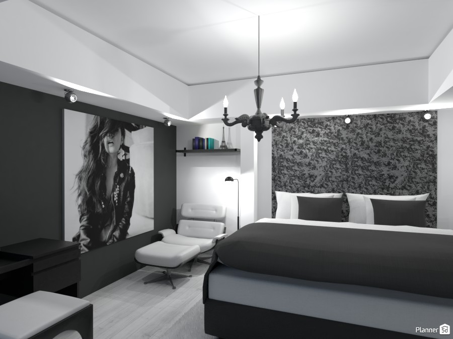 modern bedroom 3481634 by Valery G. image