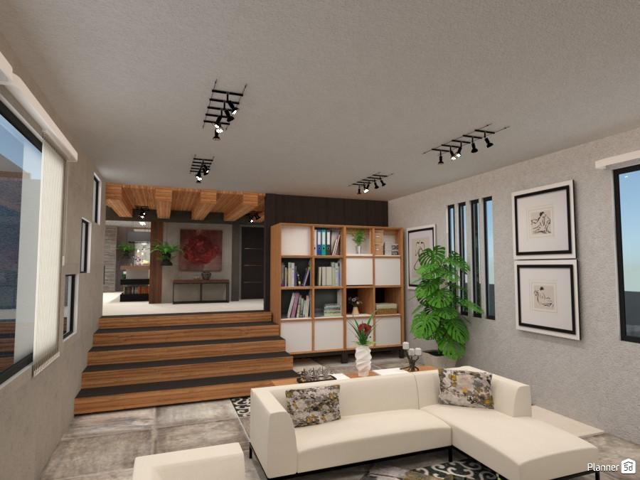 Three Modern Levels - Living 3239290 by Micaela Maccaferri image