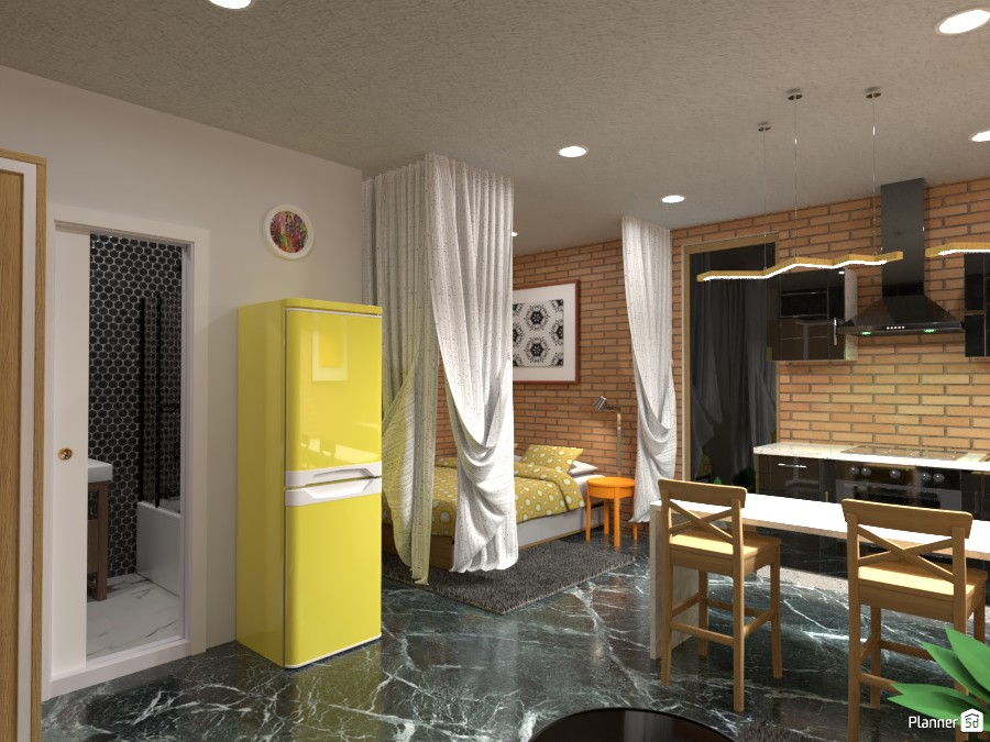 Small studio apartment 3914018 by Born to be Wild image
