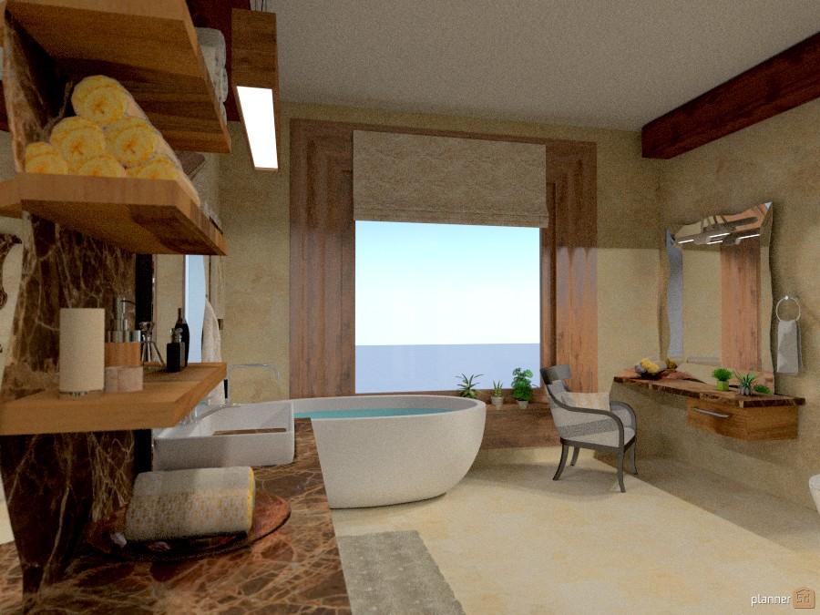 The bath window 1173212 by Micaela Maccaferri image