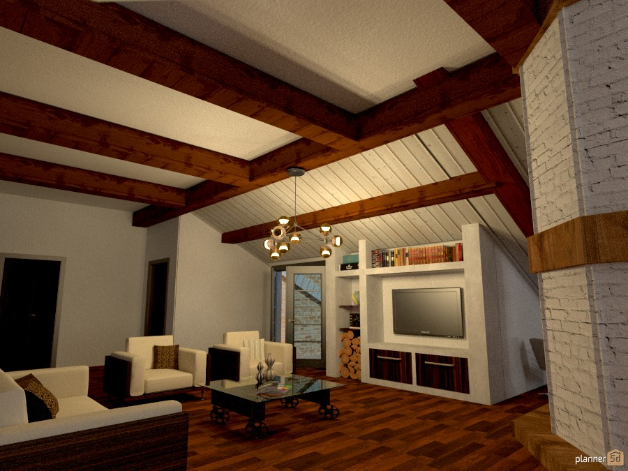 Living Under The Roof 1 Free Online Design 3d House Ideas Micaela Maccaferri By Planner 5d