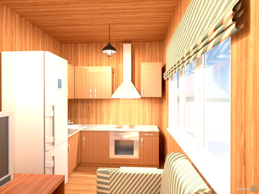 300 Sq Ft Tiny Cabin Kitchen House Ideas Planner 5d