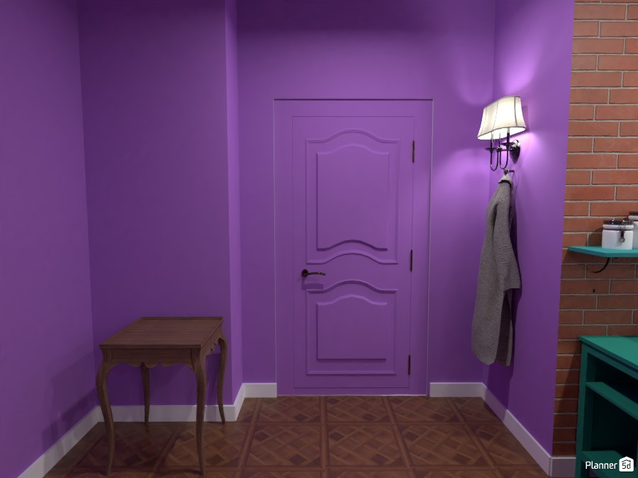 Monica's Apartment: Entryway 3655965 by Erin image