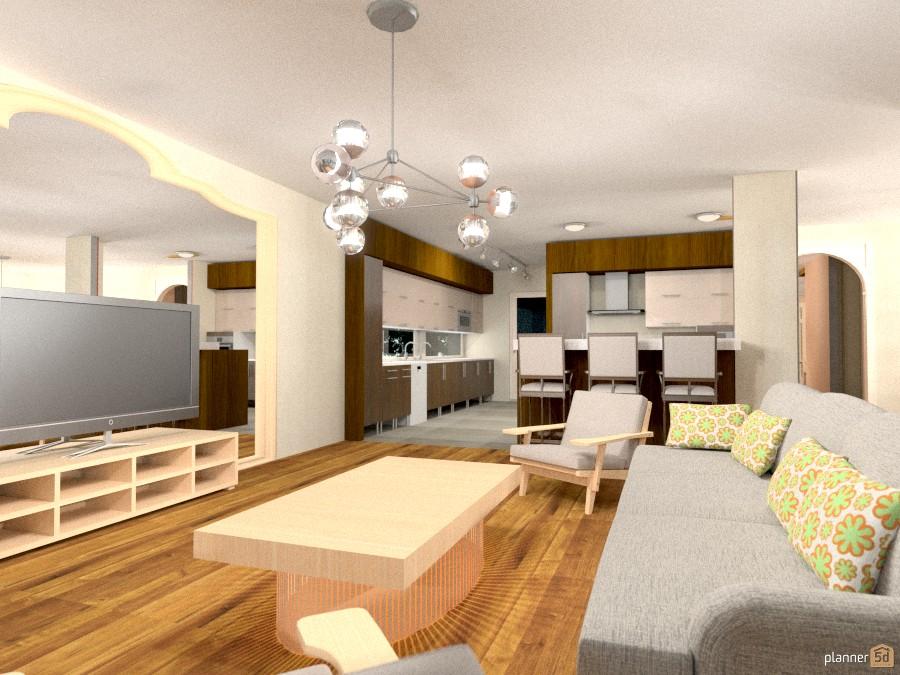 ideas living room kitchen dining room studio ideas