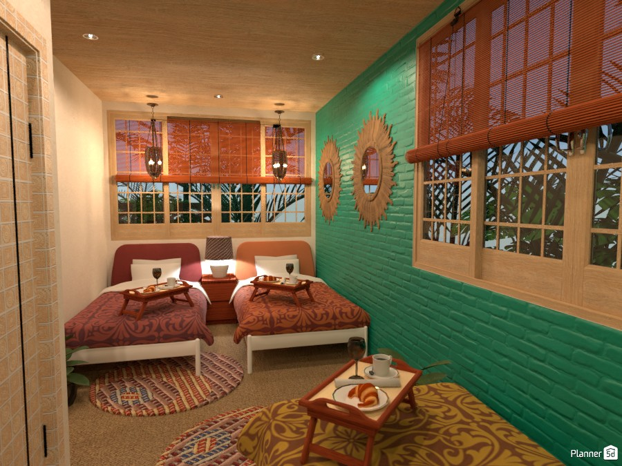MEXICAN STYLE Family Beach House 78963 by Louise Williams image