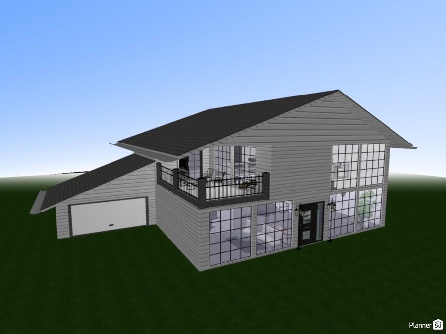Two story house 83042 by Nika image