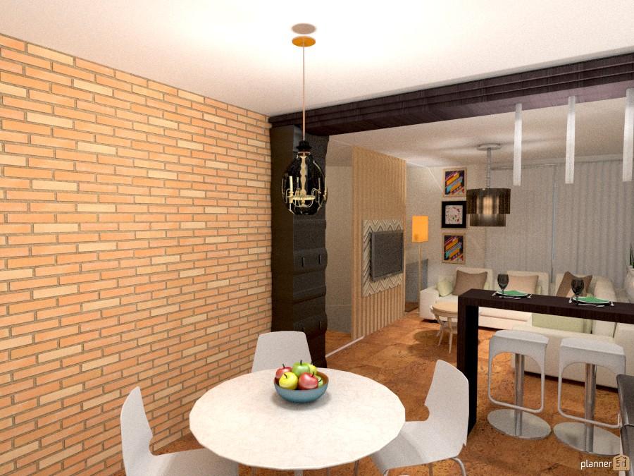 Кухня - студия - Apartment ideas - Planner 5D
